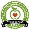 Sello de certificación vegana