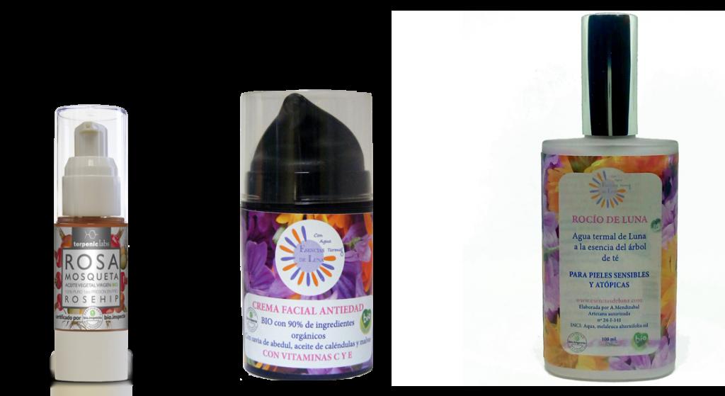 Tratamiento natural con agua termal, savia de abedul, rosa mosqueta y vitaminas