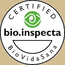 Marca de osmetica organica certificada por Bio Inspecta